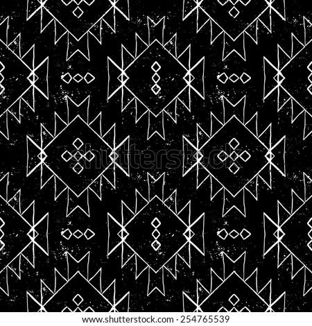 vector seamless ethnic pattern...