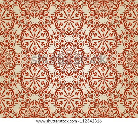 vector  seamless floral pattern,  fully editable eps 8 file with clipping mask, elements can be used separately and combined, easy to change colors, pattern in swatch menu
