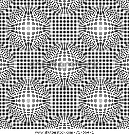 Vector seamless - fractal pattern. Abstract repeat background