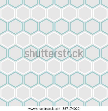 vector seamless hexagons