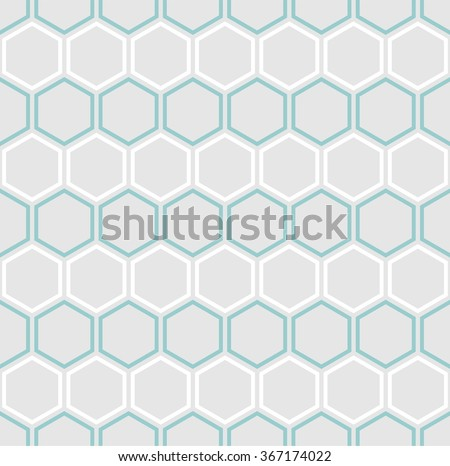 vector seamless hexagons
