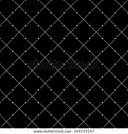 vector seamless monochrome