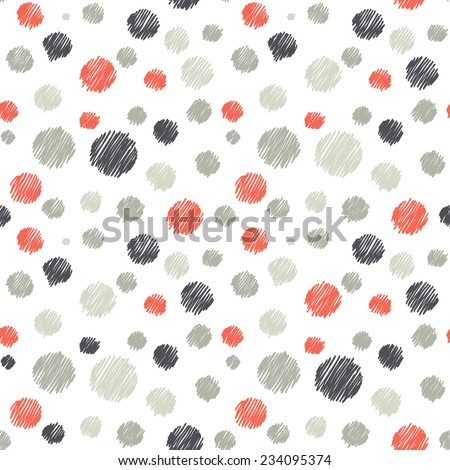 vector seamless pattern casual