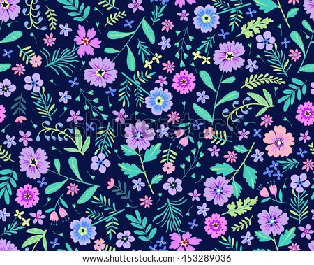 vector seamless pattern cute