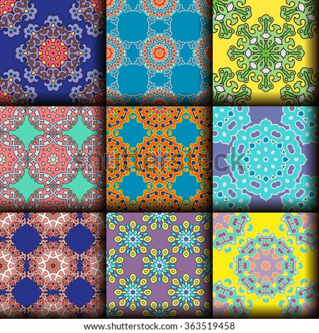 vector seamless pattern ethnic