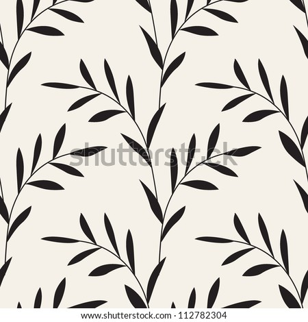 vector seamless pattern. floral stylish background
