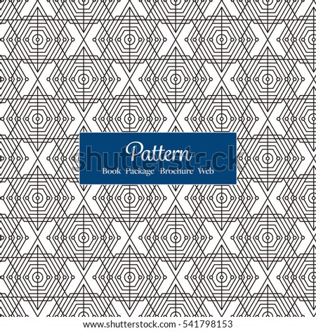 vector seamless pattern for