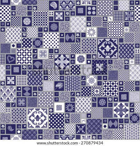 vector seamless pattern from