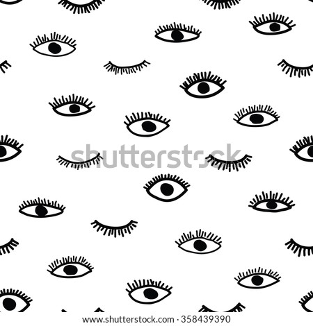 vector seamless pattern in the