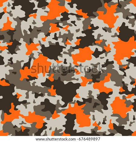 stock-vector-vector-seamless-pattern-military-camouflage-grey-and-orange