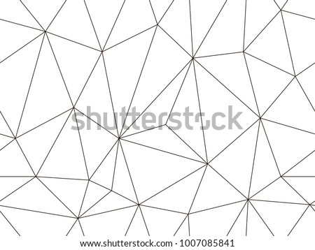 Vector seamless pattern. Modern geometric background. Polygonal art. Abstract backtop. Web design background. Endless texture for wallpaper, pattern fills, web page