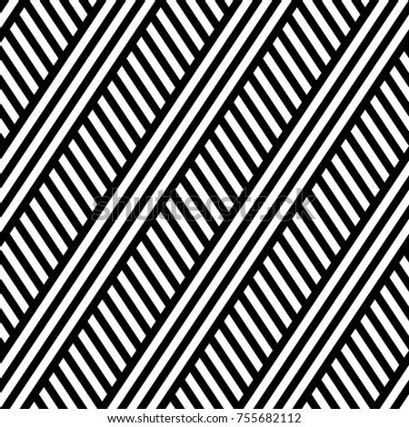 Vector seamless pattern. Modern stylish texture. Repeated geometric pattern of rectangular strips
