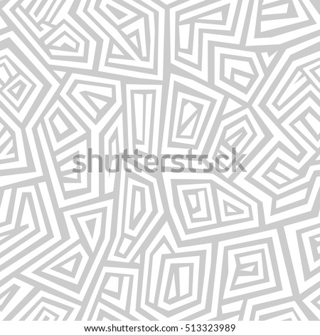 Vector seamless pattern. Modern stylish texture. Repeating abstract geometric ornament.