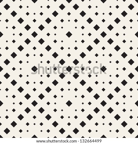 Vector seamless pattern. Modern stylish texture. Repeating geometric tiles of rhombus
