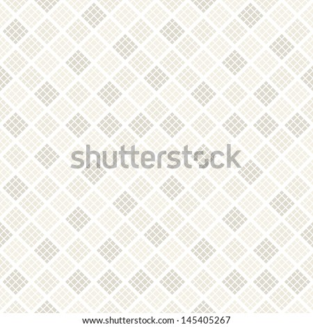 Vector seamless pattern. Modern stylish texture. Repeating geometric tiles of rhombus. Soft tones