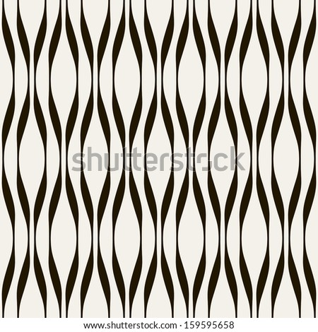 Vector seamless pattern. Modern stylish texture. Repeating geometric tiles. Stylish