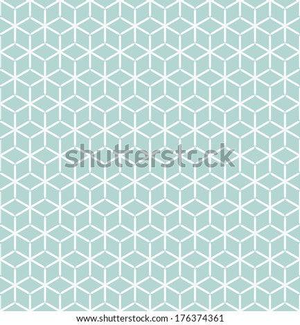 Vector seamless pattern Modern stylish texture Repeating geometric tiles with rhombuses
