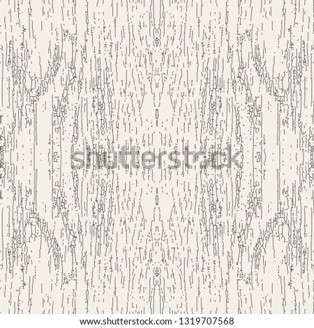 Vector seamless pattern. Modern stylish texture. Vintage wallpaper with rough surface. Subtle backdrop with dust and scratches.