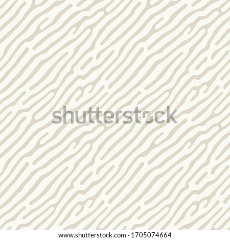 Vector seamless pattern. Modern stylish texture with sand dunes. Repeating abstract  tileable background with random spots. Subtle organic shapes. Trendy surface design.