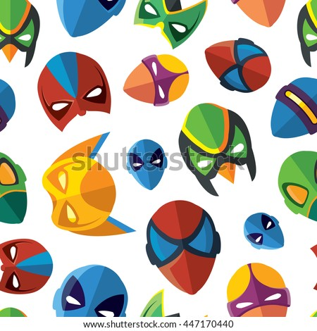vector seamless pattern of