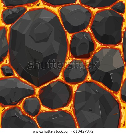 vector seamless pattern  orange