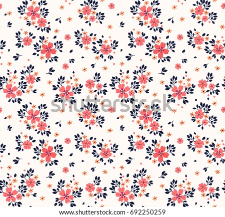 vector seamless pattern pretty