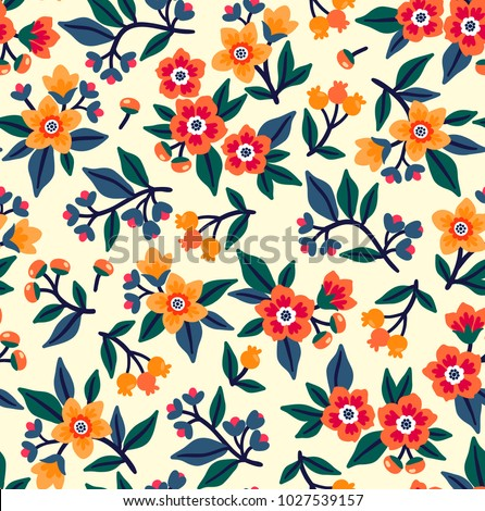 vector seamless pattern. pretty ...