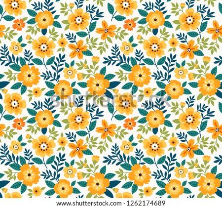 vector seamless pattern pretty