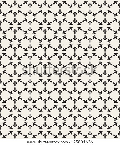 Vector seamless pattern. Stylish classical texture. Repeating geometric tiles