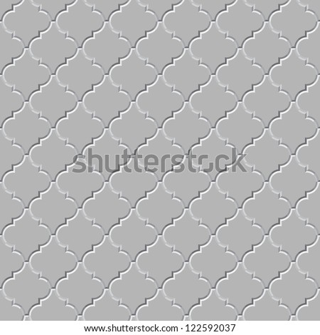 Vector seamless pattern - the gray concrete floor
