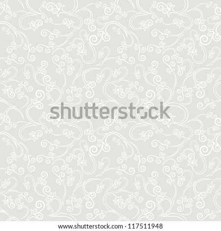 Vector seamless pattern. Vintage background