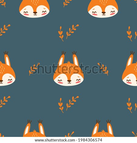 vector seamless pattern with a