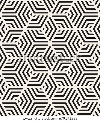 Vector seamless pattern with chevron. Modern geometric texture. Repeating abstract background. Striped grid with bold striped elements.