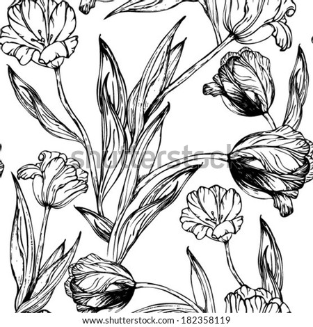 FTHS020S as well File Jordan Crown Prince Crown together with Stock Vector Vector Seamless Pattern With Hand Drawing Black And White Tulips Flowers likewise Basic Electrical Solutions together with Stock Illustration Toucan Cartoon. on standard drawing symbols