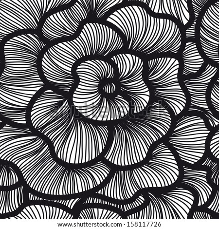 Aninimal Book: Vector Seamless Simple Pattern. Curtain Design. Modern ...