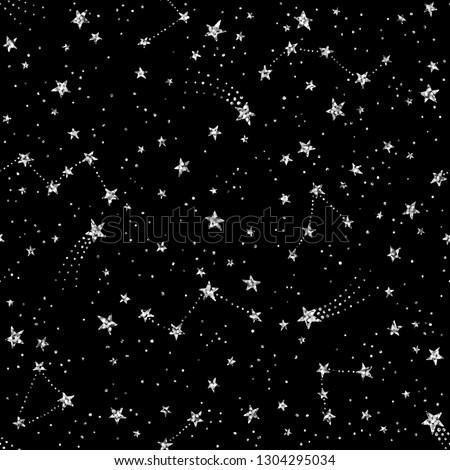 vector seamless sparkle pattern