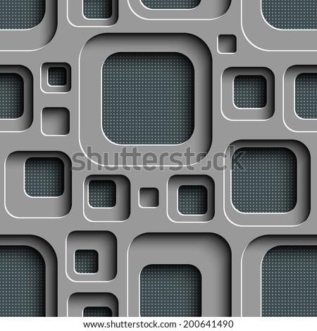stock vector vector seamless square background 200641490 - Каталог — Фотообои «3D Текстуры»