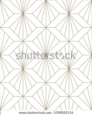 Vector seamless texture. Modern geometric background. Monochrome repeating pattern. Lattice from broken lines.