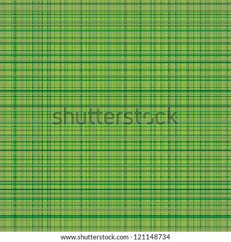 Vector seamless texture of green cloth