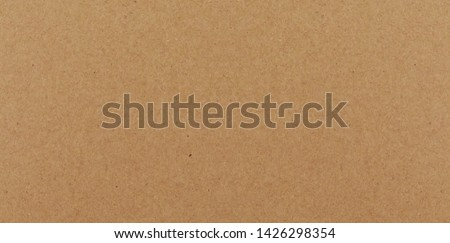 Vector seamless texture of kraft paper background