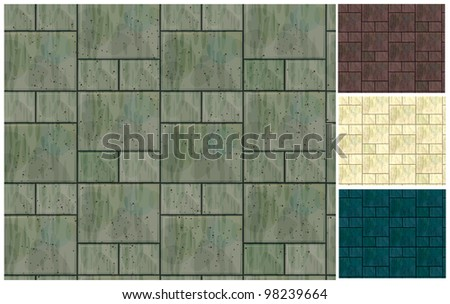 Vector seamless texture of stonewall