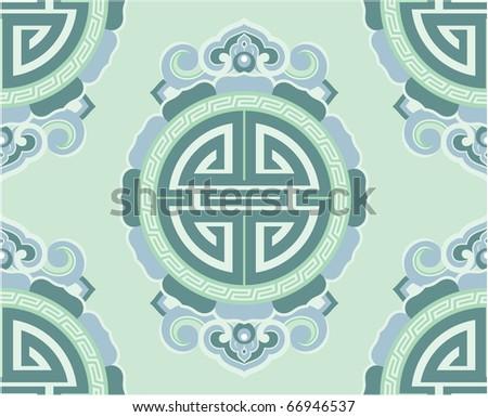 Vector Seamless Tile (wallpaper background texture)