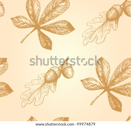Vector seamless vintage background.