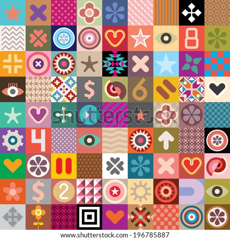 vector seamless wallpaper with