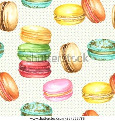 vector seamless watercolor