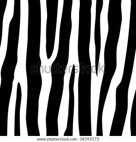 vector seamless zebra pattern