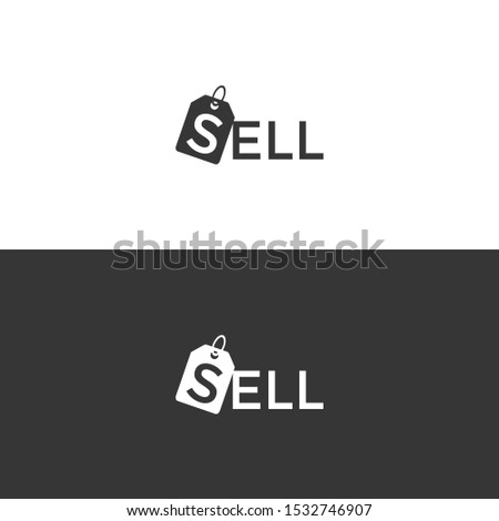 Vector Sell Logo. Sell Icon. Sell Vector.