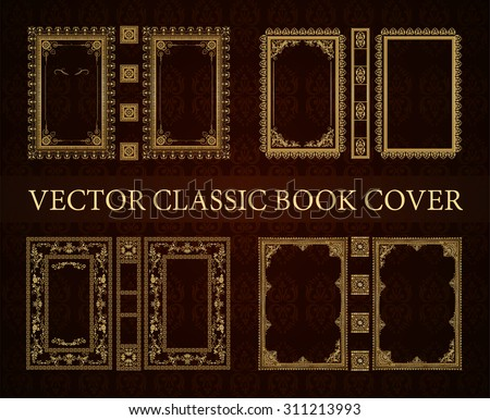 Book Border Design Vector