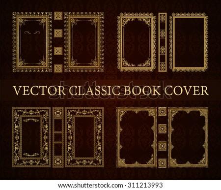Book Border Design Vector