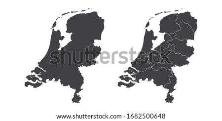 vector set couple black of map